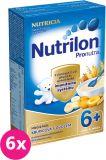 6x NUTRILON ProNutra krupicová s ovocím 225 g – mliečna kaša