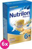 6x NUTRILON ProNutra krupicová s piškoty (225 g) - mléčná kaše