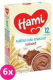 6xHAMI Kaše krupicová s kakaem (225 g) - mléčná kaše