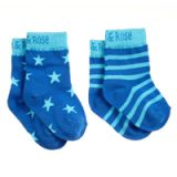 BLADE&ROSE Ponožky Blue 6-12 mesiacov (2 ks)