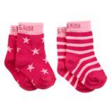 BLADE&ROSE Ponožky Pink 1-2 roky (2 ks)
