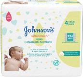 JOHNSON'S BABY Cottontouch Chusteczki nawilżane 224 szt.