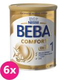 6x NESTLÉ BEBA Comfort HMO 1 (800 g) – dojčenské mlieko