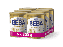 6x BEBA COMFORT 2 HM-O (800 g) - kojenecké mléko