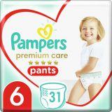 PAMPERS Premium Care Pants 6 MAXI (15+ kg) 31 ksValue Pack – plenkové kalhotky