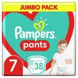 PAMPERS Active Pants 7 (17+ kg) 38 ks Jumbo Pack – plienkové nohavičky