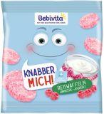BEBIVITA Rýžové oplatky Maliny-jogurt