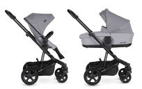 EASYWALKER Kočík Harvey2 Set - Stone Grey