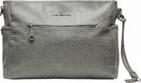 LITTLE COMPANY Prebaľovacia taška Copenhagen Croco - grey krokodílí vzor