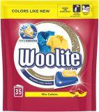 WOOLITE COLOR Keratin XL 35 ks – gelové kapsle na praní
