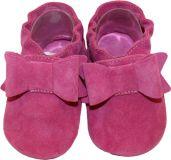 BABICE Topánky detské mašlička ružová 22-23