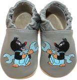 BABICE Topánky detské Krtko šedá 22-23