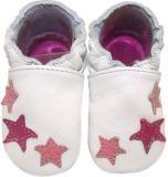 BABICE Topánky detské hviezdy ružová 16-17