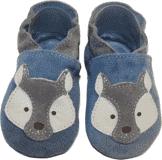 BABICE Topánky detské vĺčik modrá 16-17