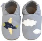 BABICE Boty dětské letadlo šedá 16-17