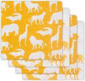 JOLLEIN Bavlnené plienky 4 ks (70 x 70 cm) – Safari Ocher