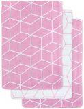 JOLLEIN Žínka balení 3 ks – Graphic mauve