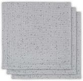 JOLLEIN Ručníček balení 3 ks – Mini dots Mist grey
