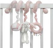 LITTLE DUTCH Plyšová špirála zajačikovia – Pink