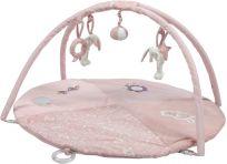 LITTLE DUTCH Plyšová hrající deka s hrazdičkou – Pink