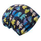 UNUO Fleecová čepice Souhvězdí medvěda kluk L (53 - 58 cm)