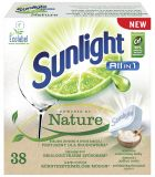 SUNLIGHT All in One Nature 38 ks – tablety do umývačky riadu