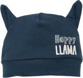 PINOKIO Czapka Happy Llama rozm. 68 – grafitowa