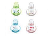 NUK FC lahvička na učení PP 150 ml, silikonové pítko - různé barvy
