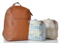 PACAPOD Přebalovací taška i batoh HARTLAND - kožená hnědá