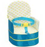 BADABULE Prenosná detská stolička 2v1 One-the-Go Blue