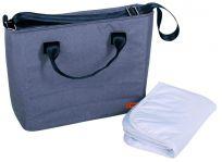BOMIMI Seba přebalovací taška grey melange