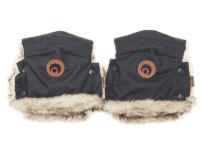 EASYGROW Rukavice na kočárek Basic Black Melange