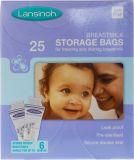 LANSINOH sáčky na skladování mateřského mléka 25 ks