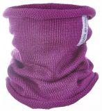 LITTLE ANGEL Nákrčník pletený tenký Outlast fialová 4 46-48cm