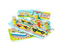 MEADOW Kids Puzzle do vane Automobilový závod