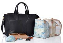 PACAPOD Přebalovací taška CROYDE - černá