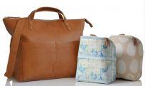PACAPOD Přebalovací taška i batoh SAUNTON - hnědá