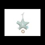 TIAMO plyšová hrající hvězda zajíček mint