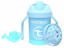 TWISTSHAKE Hrnek učicí 230 ml (4 m+) pastelově modrá