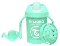 TWISTSHAKE Hrnek učicí 230 ml (4 m+) pastelově zelená