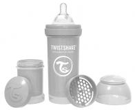 TWISTSHAKE Kojenecká láhev Anti-Colic 260 ml (2 m+) pastelově šedá