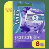GILLETTE Venus ComfortGlide Breeze 8 szt. – wymienne wkłady do maszynki do golenia dla kobiet