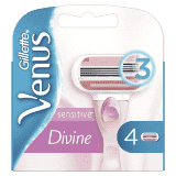 GILLETTE Venus Sensitive 4 ks – dámské náhradní hlavice