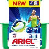 ARIEL Gélové kapsuly Active Sport All in 1 – 45 ks