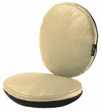 MIMA Sada sedacích polštářků do židličky Moon – Champagne