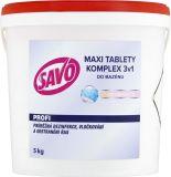 SAVO Maxi tablety do bazénu 3v1, 5 kg