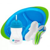 B.BOX Detská jedálenská súprava - modrá