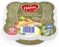 HAMI Talířek Špenátové pyré s tichomořským lososem 230 g, 12+