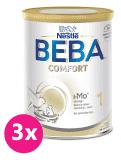 3x BEBA COMFORT 1 HM-O, počiatočná dojčenská mliečna výživa, 800 g.