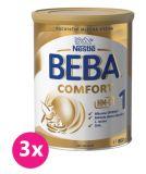 3x BEBA Comfort HMO 1 (800g) - kojenecké mléko